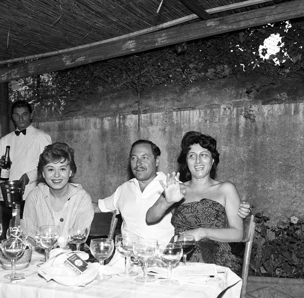 <p>Giulietta Masina, Tennessee Williams e Anna Magnani: pace fatta?</p>