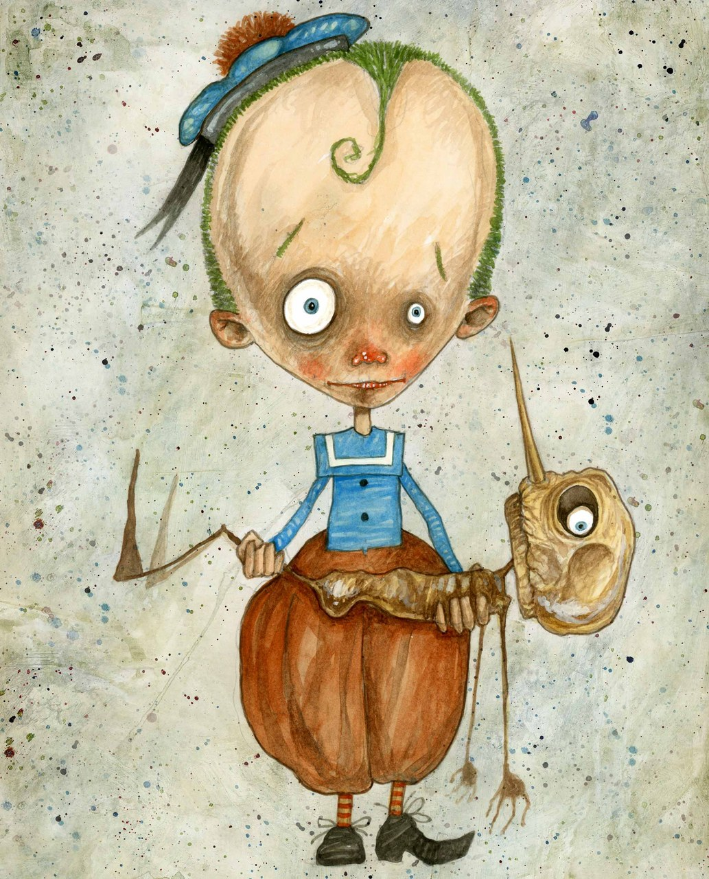 <p>Fig. 8. Stefano Bessoni, Pinocchio, 2014</p>