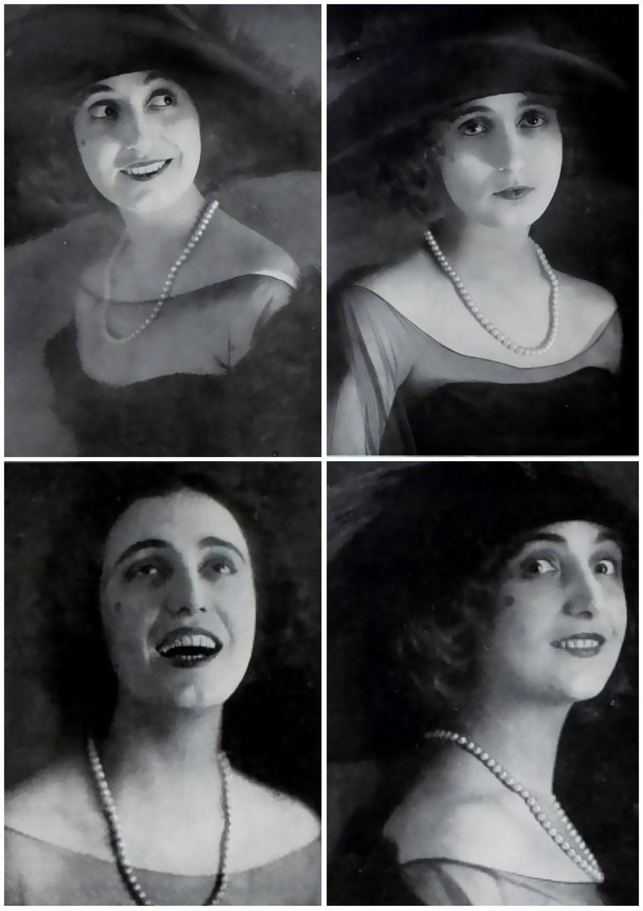 <p>Anna Fougez, immagini tratte da <em>In penombra</em>, Anno I, Fascicolo 7, Dicembre 1918</p>