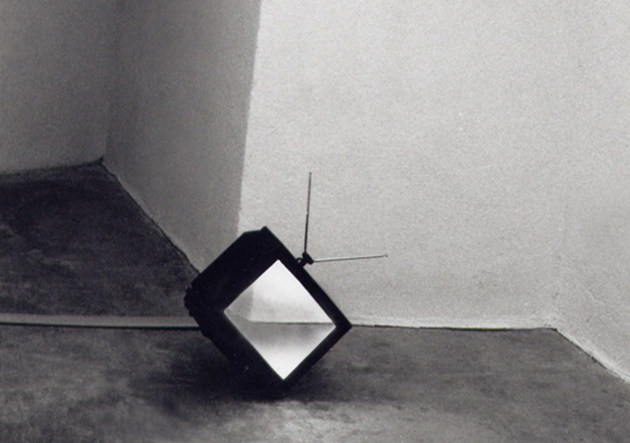 <p>Flavia Alman e Sabine Reiff (autoritratto anamorfico)</p>