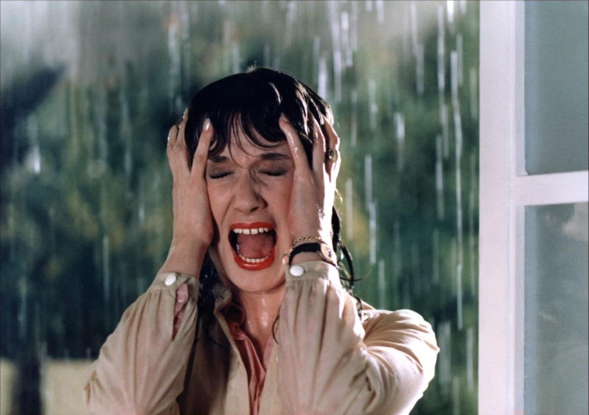 <p>Daria Nicolodi in <em>Tenebre</em> di Dario Argento, 1982</p>