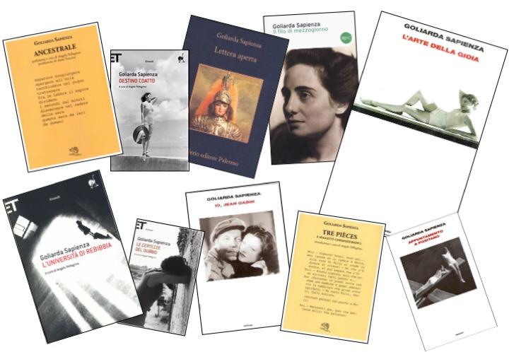 <p>I libri di Goliarda Sapienza</p>