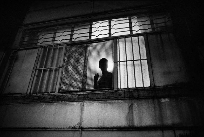 <p>Una foto di scena di <em>Gomorra,</em> di Matteo Garrone (2008) © Mario Spada</p>