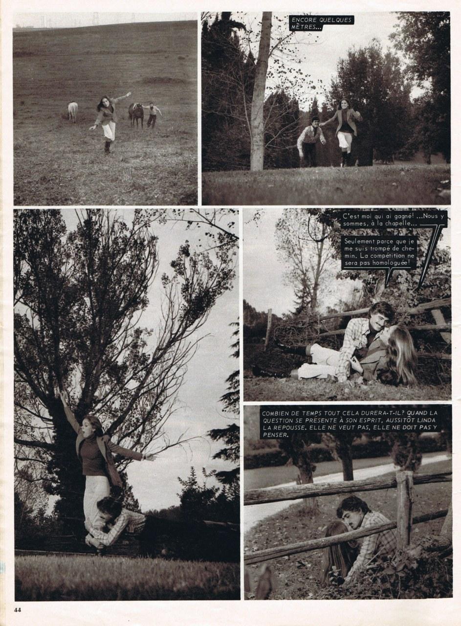 À Rome un soir d'automne, roman-photo Lancio, 1977