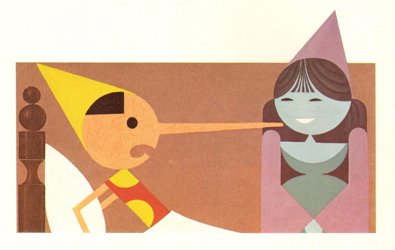 Fig. 4. Attilio Cassinelli, La Fata ride della bugia di Pinocchio