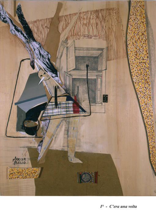 Fig.5. Bello e Spagnul, C'era una volta, collage, 2007