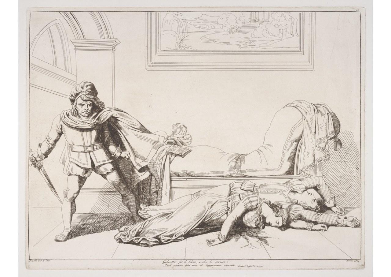 fig. 6 Dante Alighieri,Divina Commedia, Scudellari, Roma, 1824-1826
