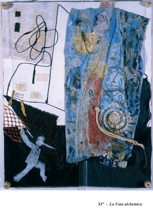 Fig.7. Bello e Spagnul, La fata alchemica, collage, 2007