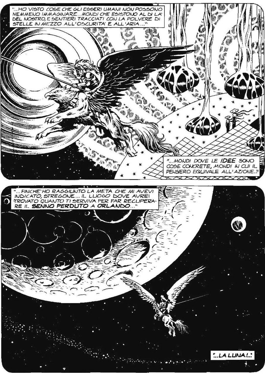 Carlo Recagno,Esposito Bros, Ilviaggio di Astolfo sulla luna, in Il re rosso, 2006, p. 98