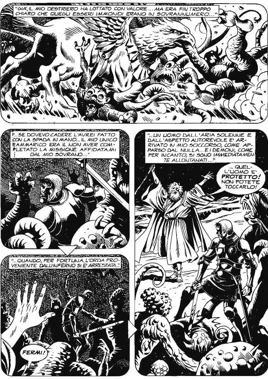 Carlo Recagno,Esposito Bros, Astolfo incontra Enoch sulla luna, in Il re rosso, 2006, p. 101