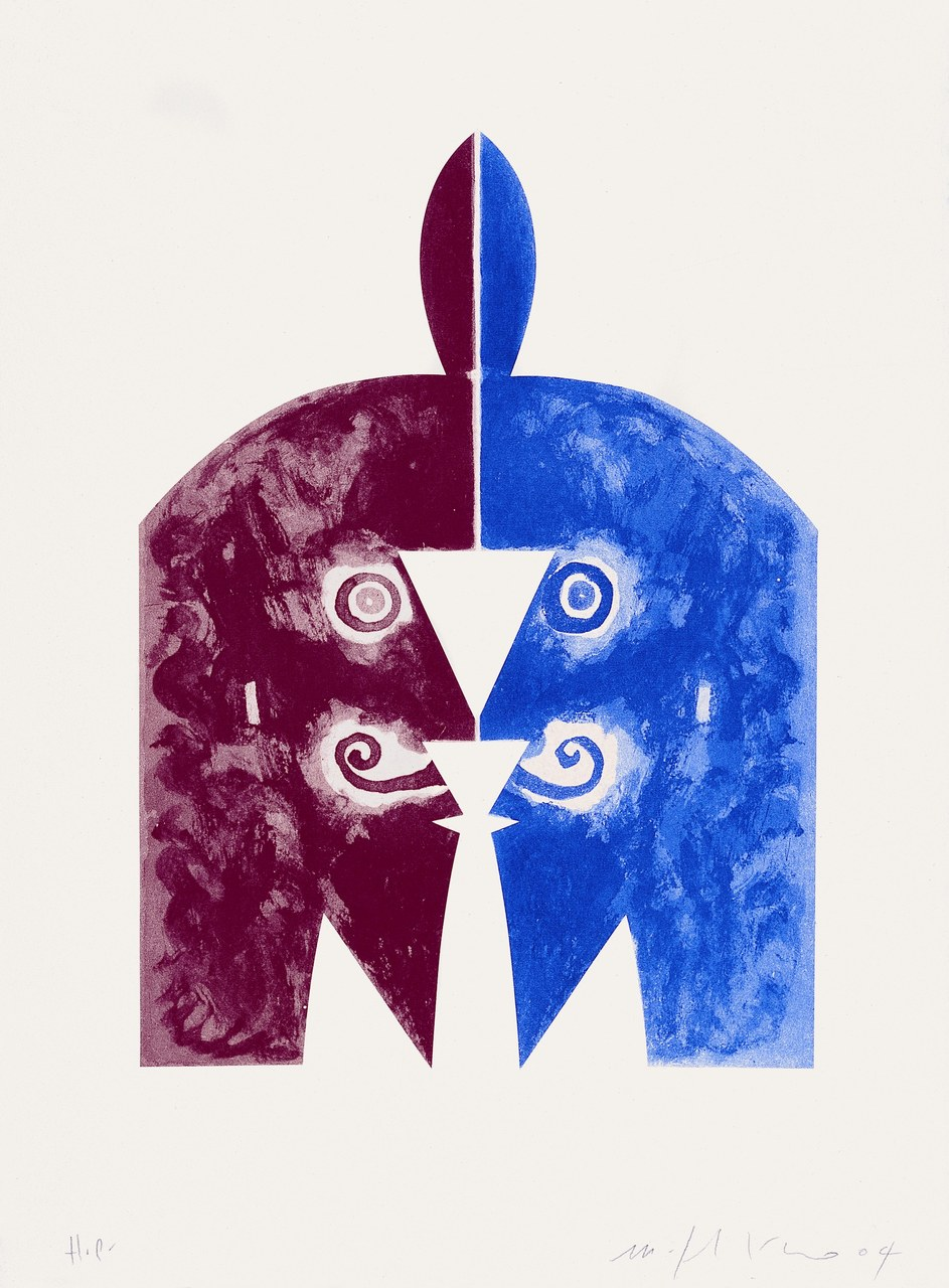 Fig. 4. Mimmo Paladino, opera grafica per Pinocchio, 2004. Acquaforte, acquatinta su carta cina, collage, 60x45 cm