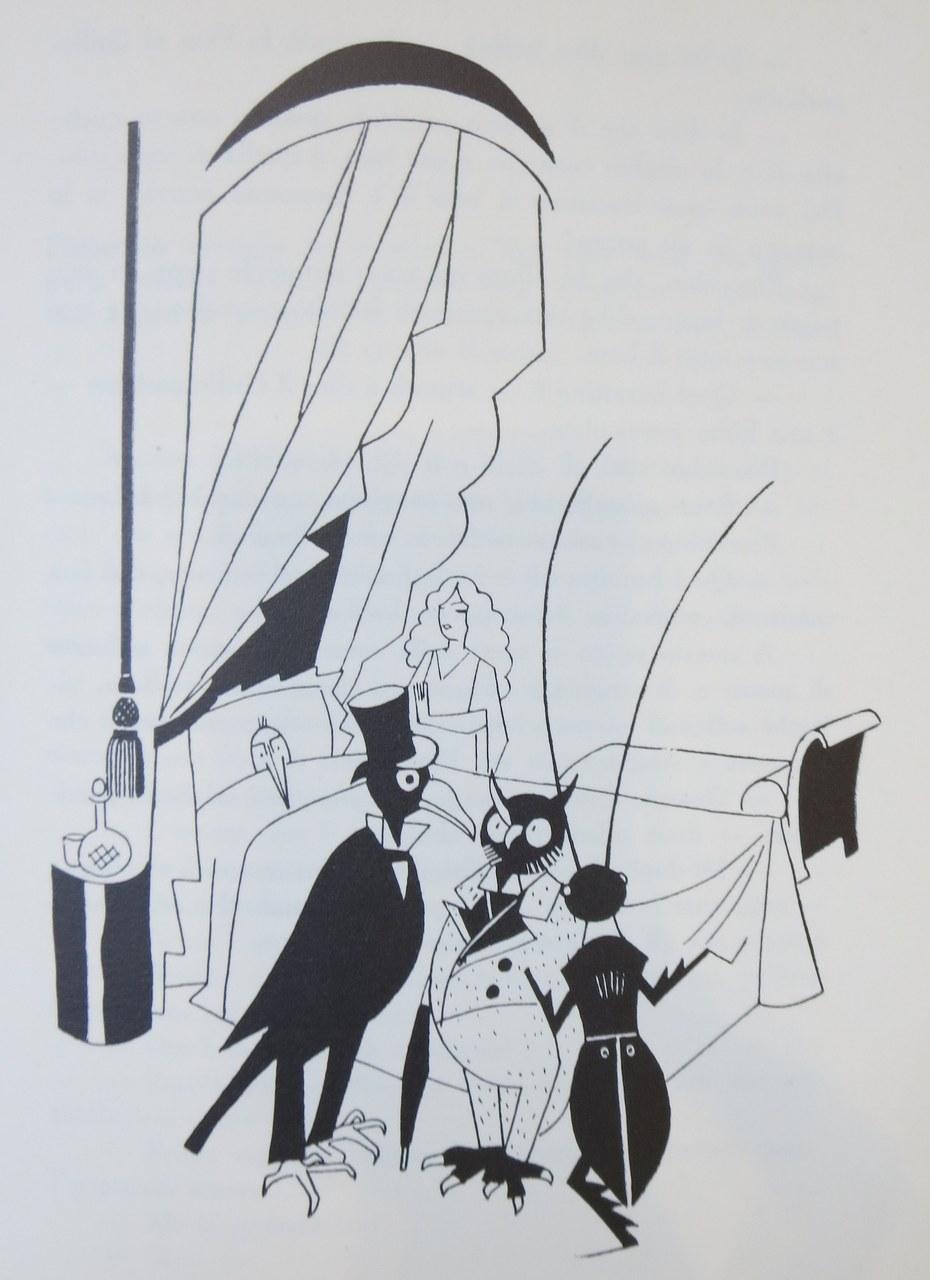 Fig. 6. Piero Bernardini, I medici riuniti intorno al letto di Pinocchio