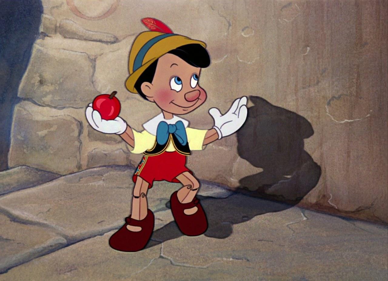 Fig. 1. Il burattino/bambino (B. Sharpsteen, H. Luske, Pinocchio, Walt Disney Studios, 1940)