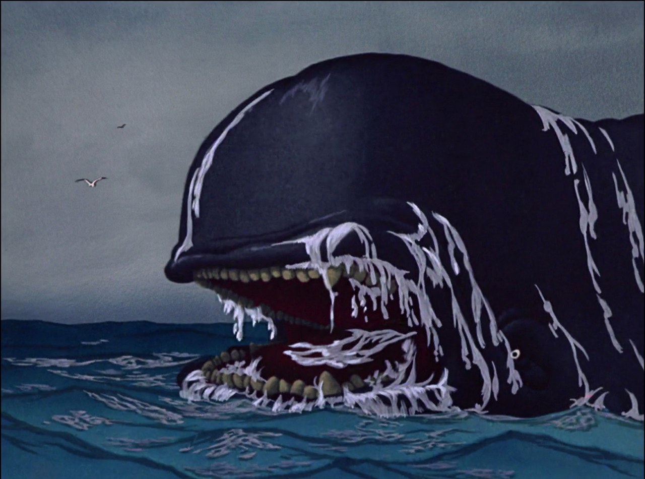 Fig. 7. Monstro (B. Sharpsteen, H. Luske, Pinocchio, Walt Disney Studios, 1940)