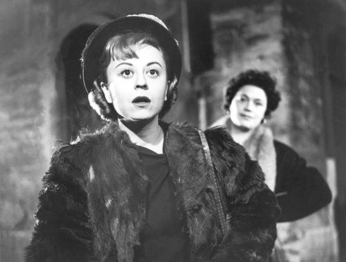 Fig. 3 Giulietta Masina in Lo sceicco bianco (1952) di Federico Fellini