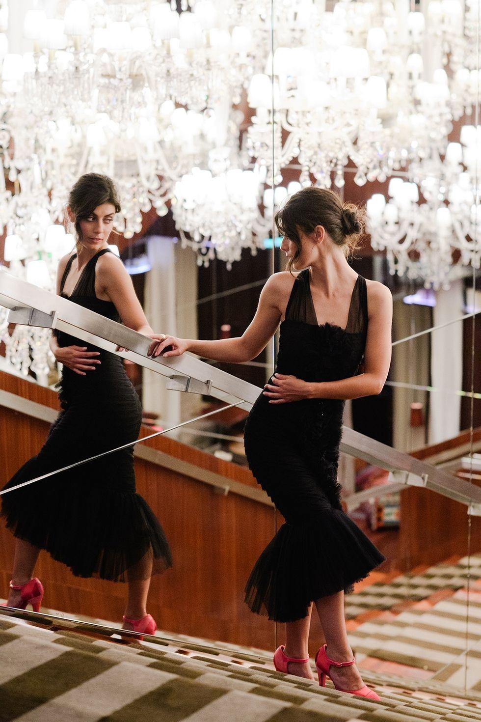 Dal servizio fotografico Chanel per Elle Magazine