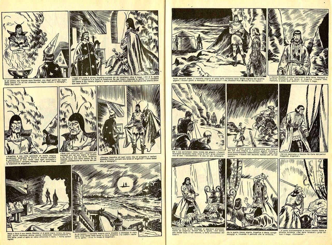 Gian Luigi Bonelli, Rino Albertarelli,L'evocazione di Shaddai, 1941-42, [tavv. 3-4]
