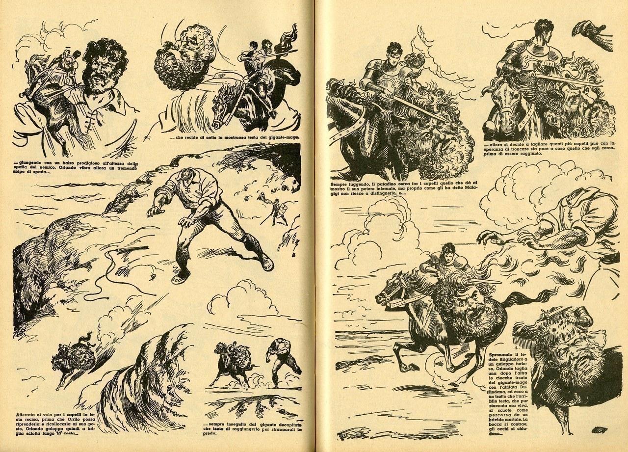 Gian Luigi Bonelli, Rino Albertarelli,Il gigante Orrilo, 1942, [tavv. 75-76]
