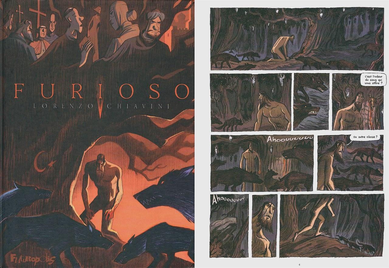 Lorenzo Chiavini,Furioso, 2012, copertina ep. 4 [Chiavini©Futuropolis 2012]