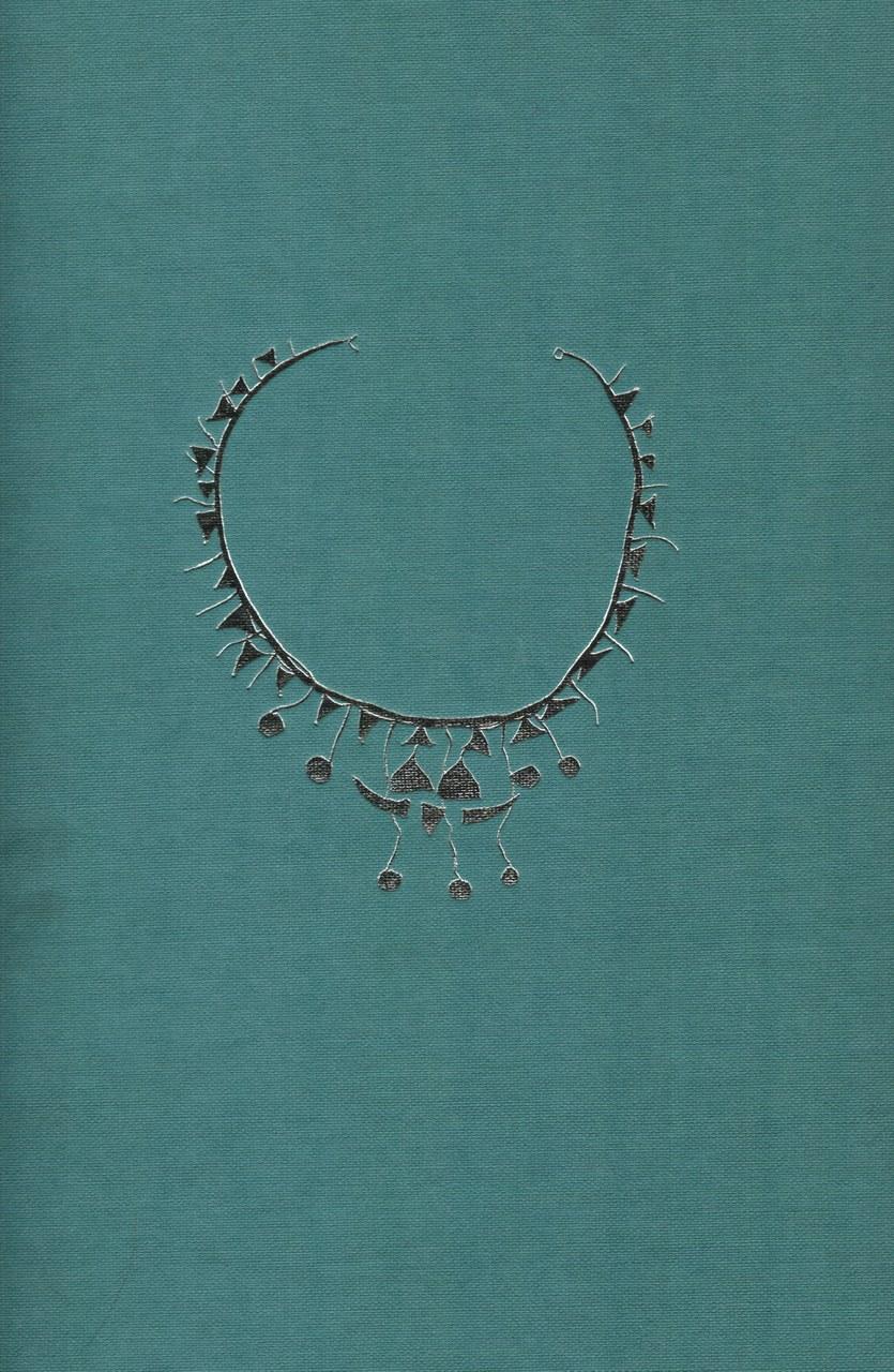 Copertina del volume realizzata da Enrico Della Torre infilettato argentato, 1972