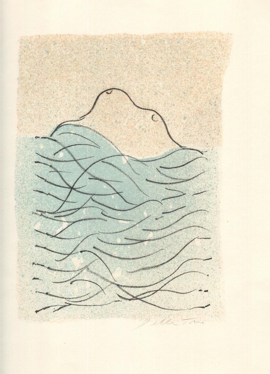Litografia a colori di Enrico Della Torre per il PervigiliumVeneris, 1972 a