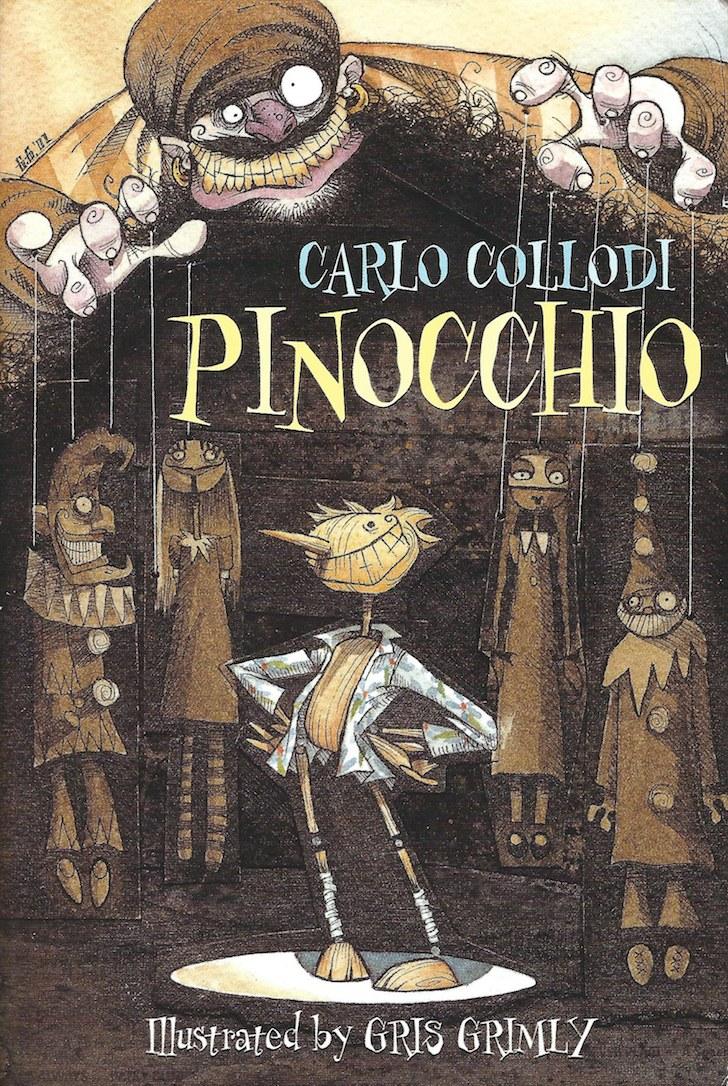 Fig. 2. Gris Grimly (copertina), Pinocchio