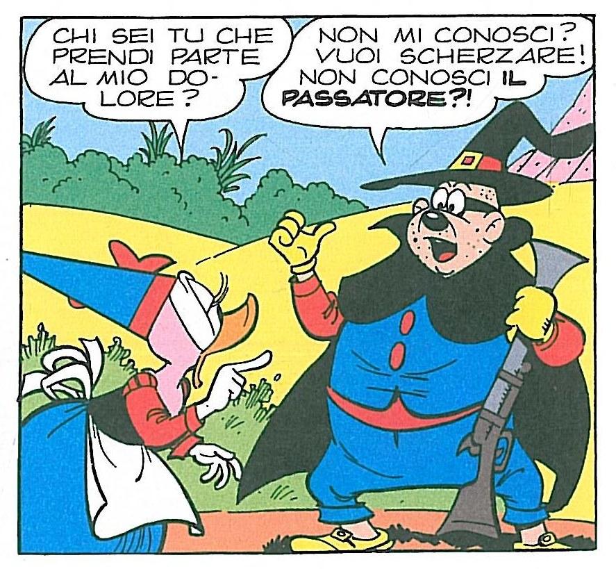 Guido Martina, Giovan Battista Carpi,Il Passatore, china su carta e colore, 1980,tav. 8