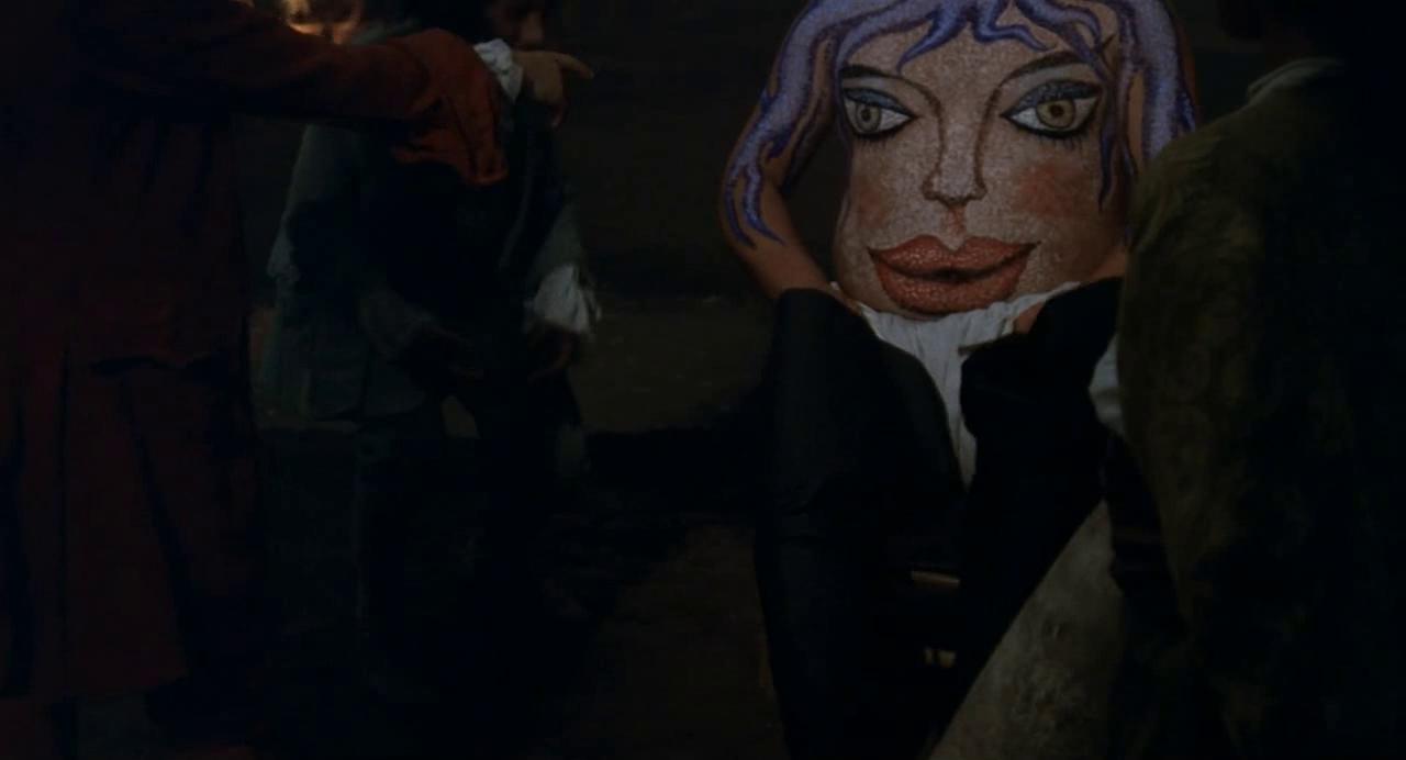 Fig. 3. La 'donna turchina' nel Casanova di Federico Fellini