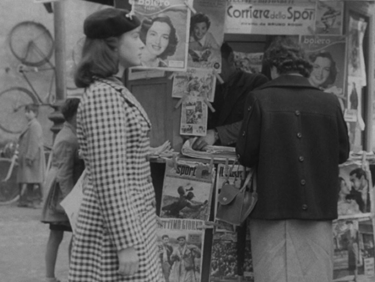 Il rilievo della stampa illustrata in relazione alla questione femminile nelle prime sequenze di Roma ore 11 (Giuseppe De Santis, 1952)