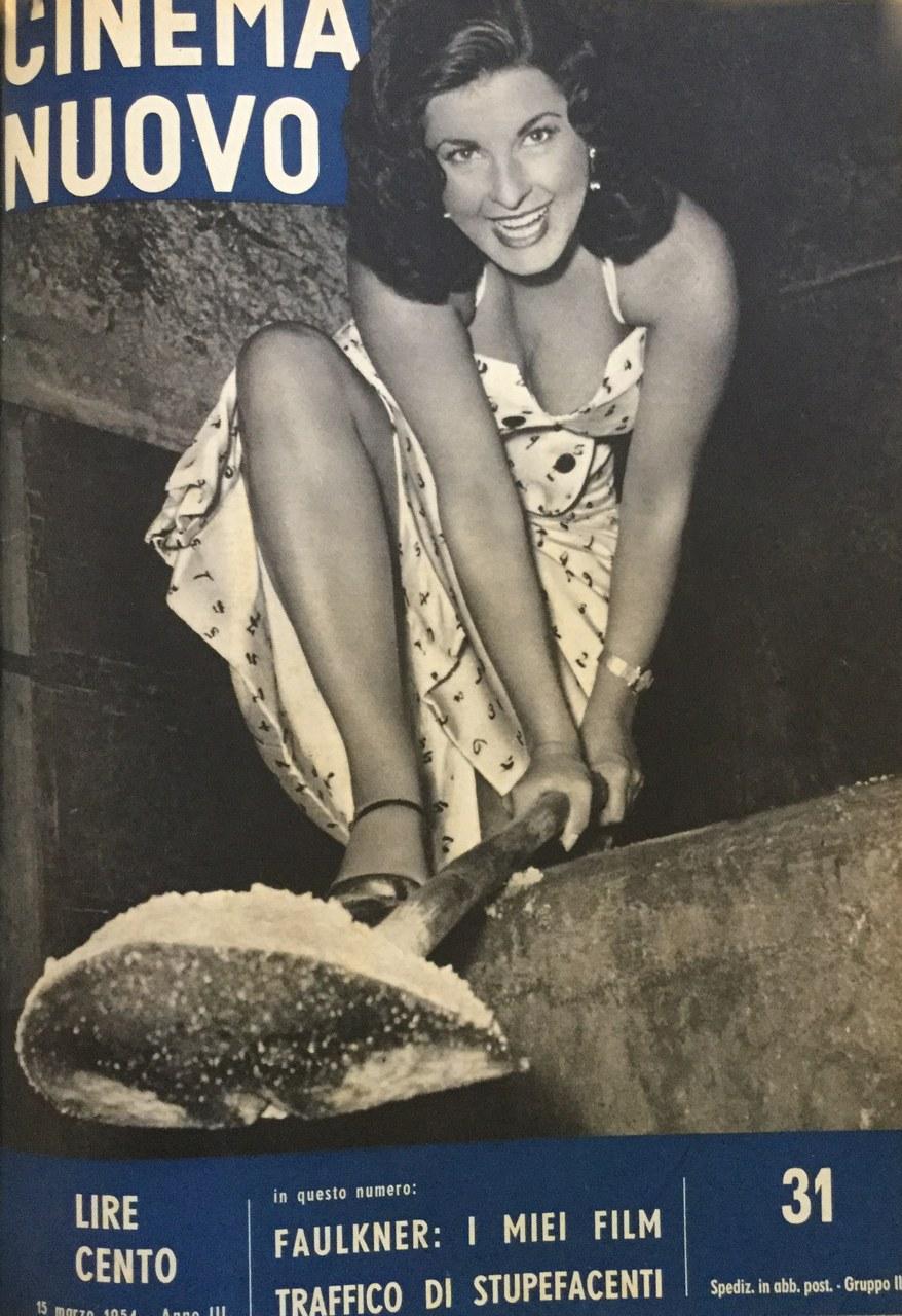 Silvana Pampanini sulla copertina del n. 31, marzo 1954