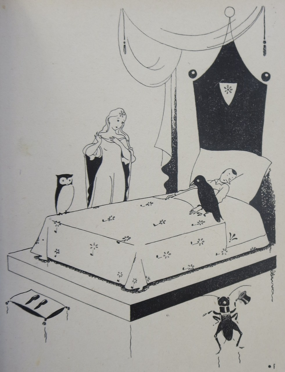 Fig. 5. Fiorenzo Faorzi, I medici riuniti intorno al letto di Pinocchio