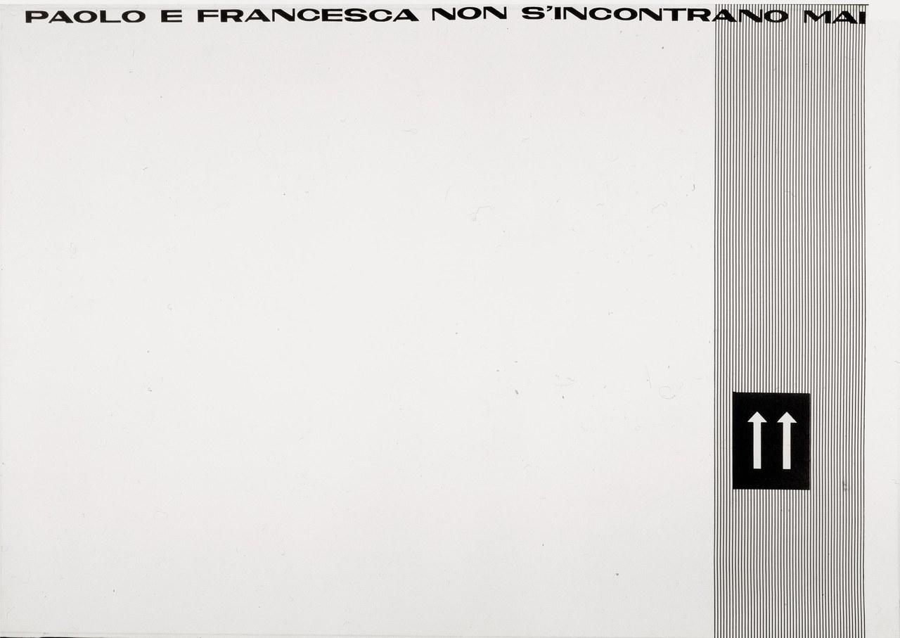 Paolo e Francesca, 1966 (versione in nero)