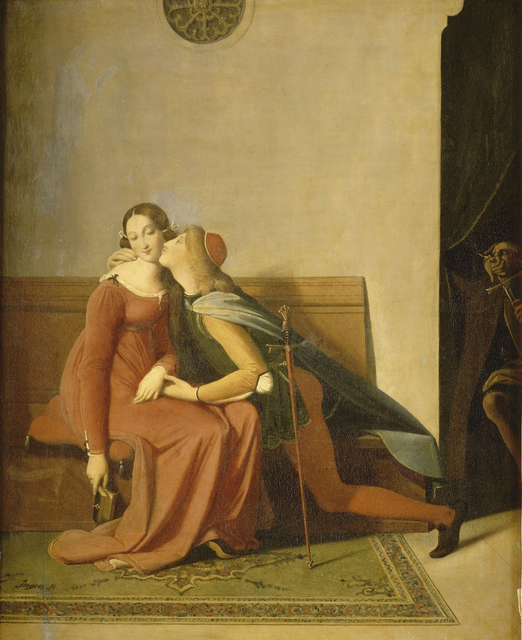 fig. 4 Jean-Dominique Ingres, Paolo e Francesca, 1814