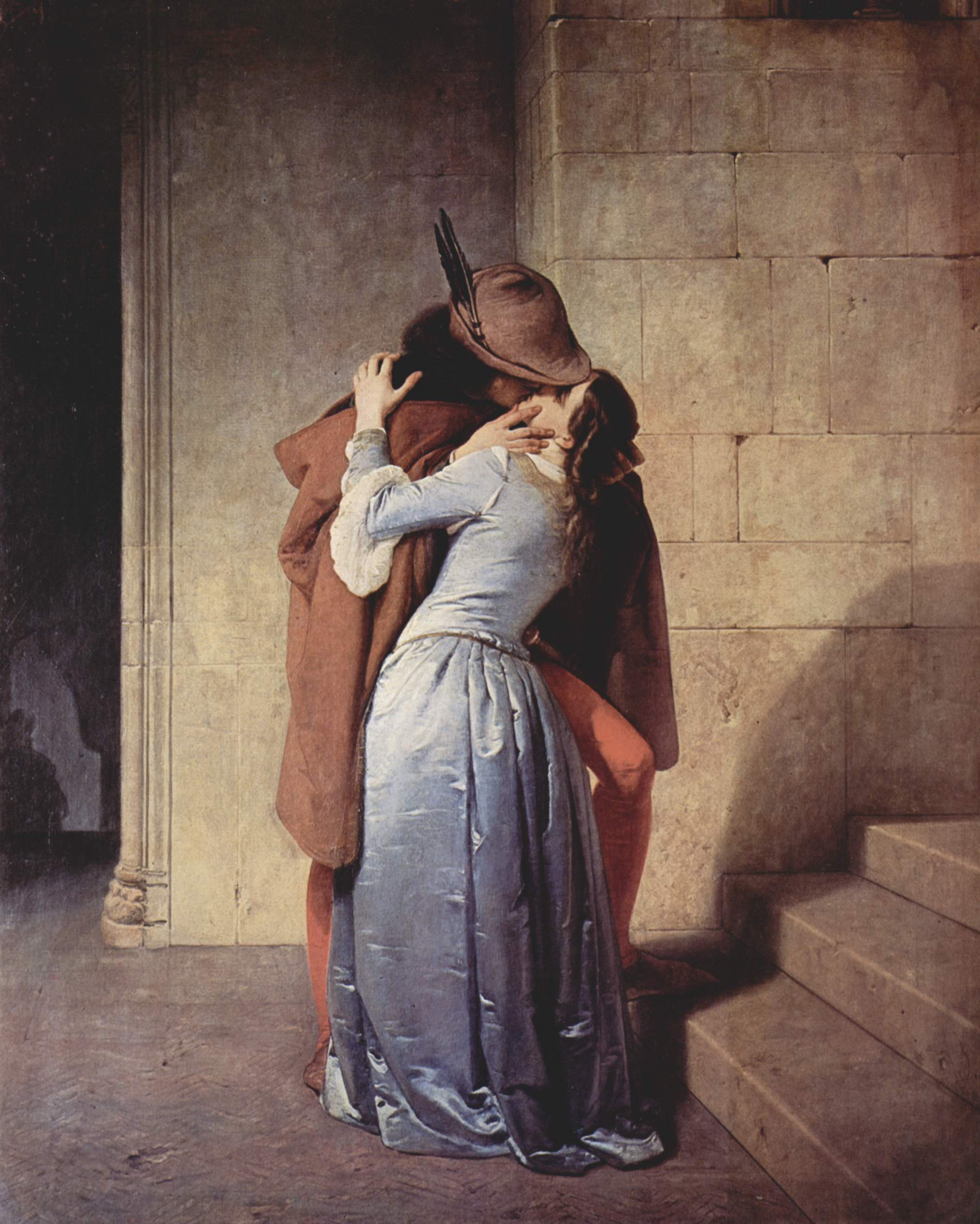 fig. 8 Francesco Hayez, Bacio, 1859
