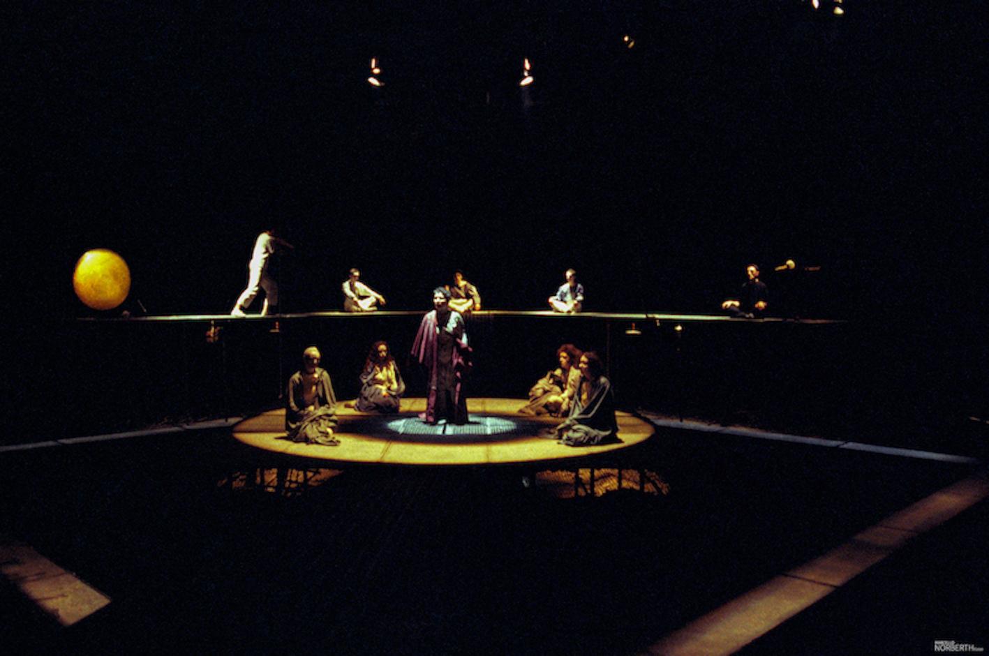 fig. 3 Federico Tiezzi, Commedia dell'Inferno, 1989. © Archivio Marcello Norberth