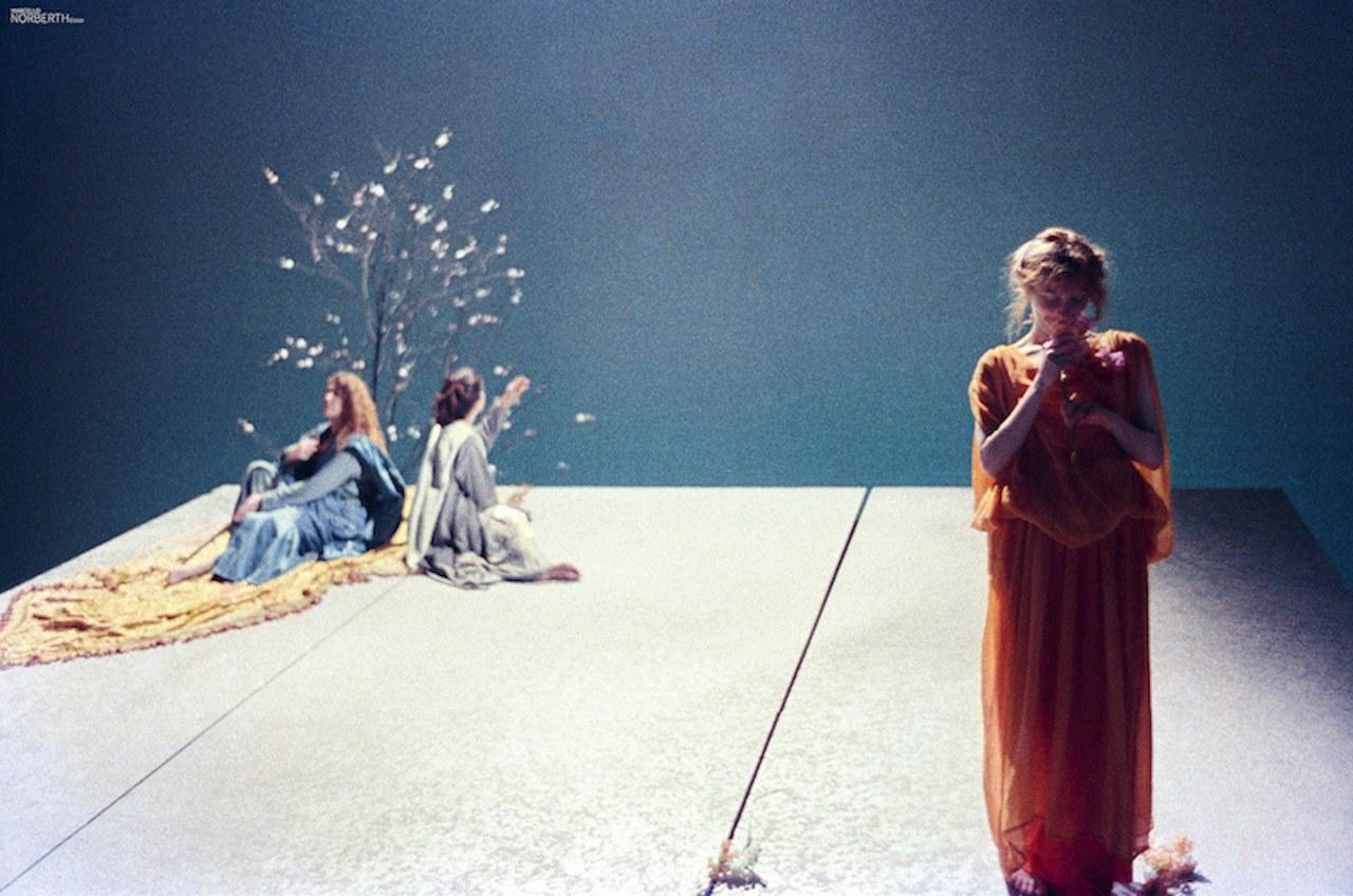 fig. 6 Federico Tiezzi,Il Paradiso. Perché mi vinse il lume d'esta stella, 1991. © Archivio Marcello Norberth