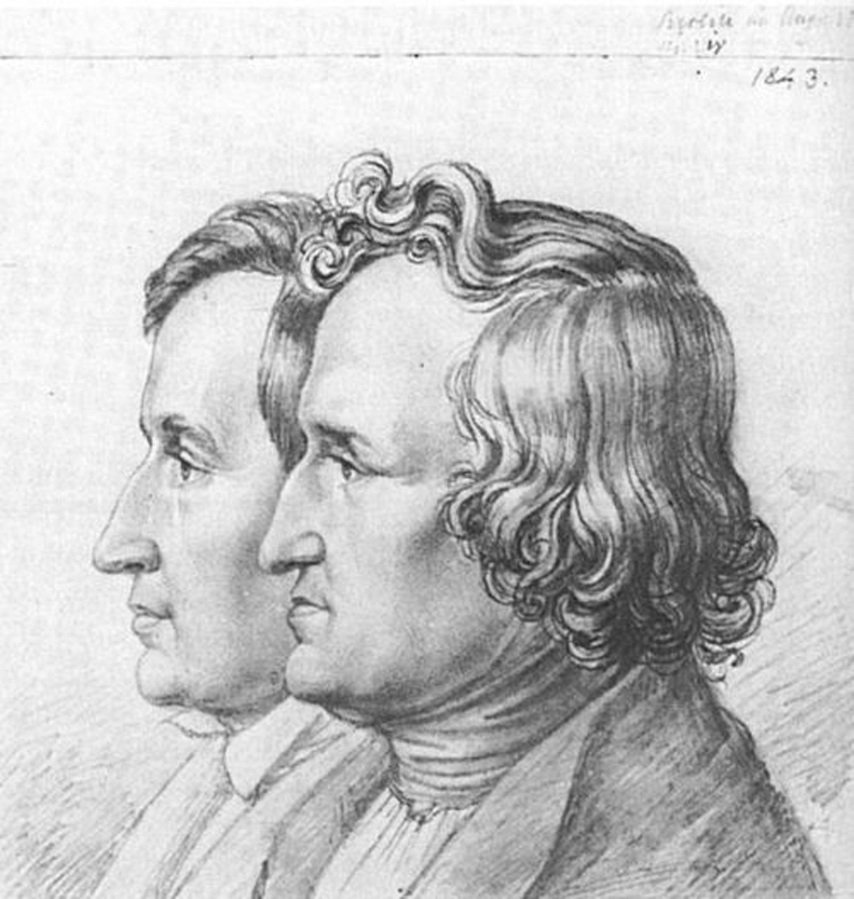 Fig. 2 I fratelli Grimm (zeno.org). Blaubart è contenuto nel primo volume dei Kinder- und Hausmärchen (1812).