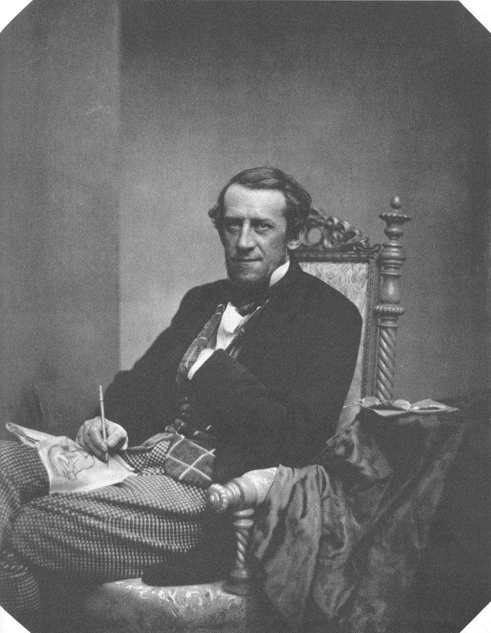 Fig. 3 Franz von Pocci / Franz Hanfstaengl (Wikimedia Commons). Il suo Blaubart illustrato è del 1838.