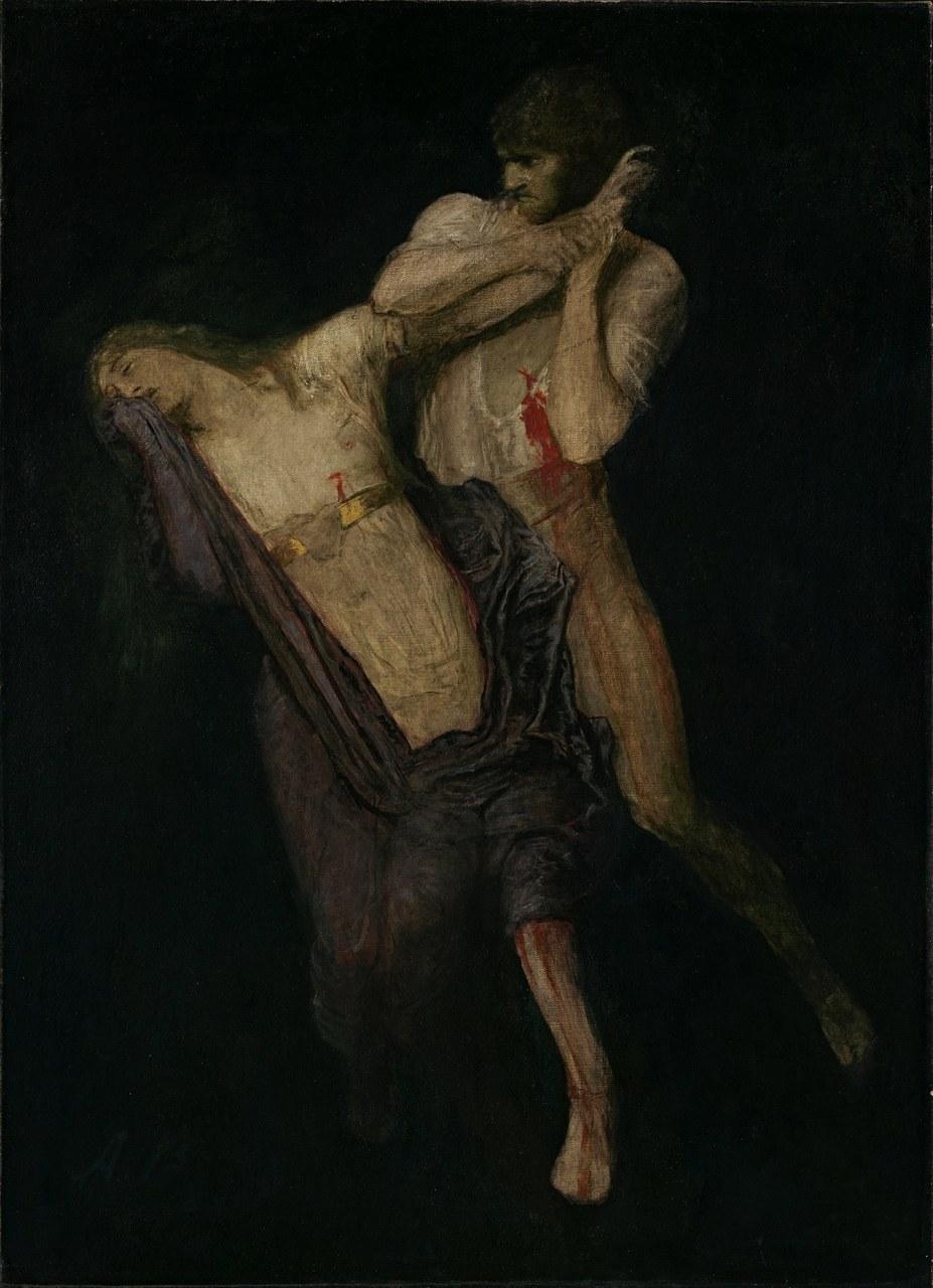 Arnold Böcklin, Paolo und Francesca, 1893