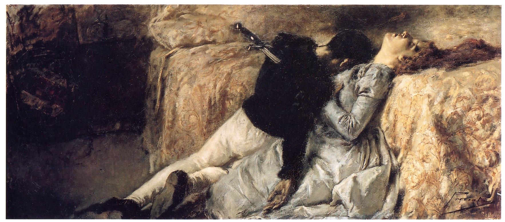 Gaetano Previati, Paolo e Francesca, 1887
