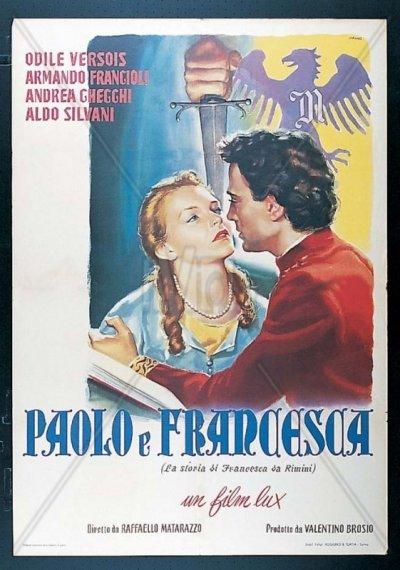 Raffaello Matarazzo, Paolo e Francesca, 1950