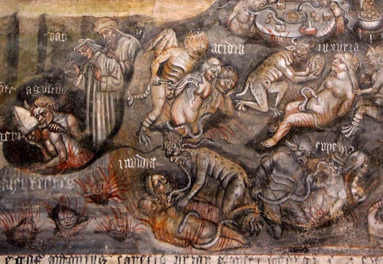 Campochiesa, San Giorgio, Giudizio finale, 1446