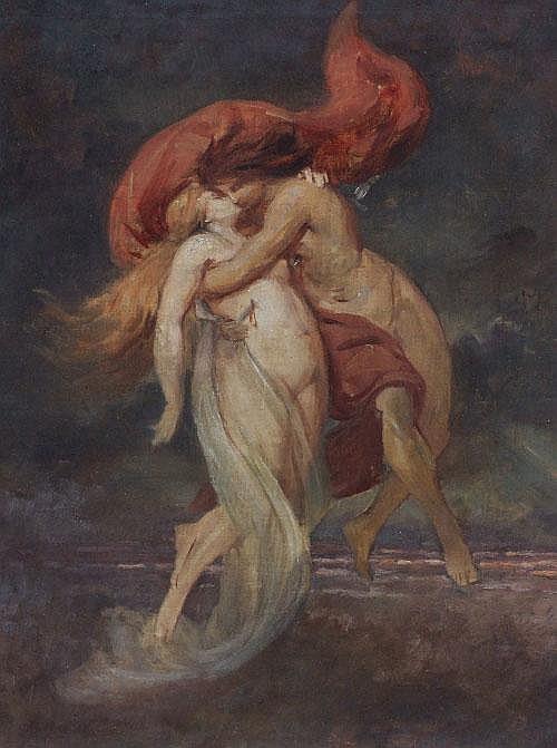 Ludwig von Hofmann-Zeitz, Francesca und Paolo, 1876