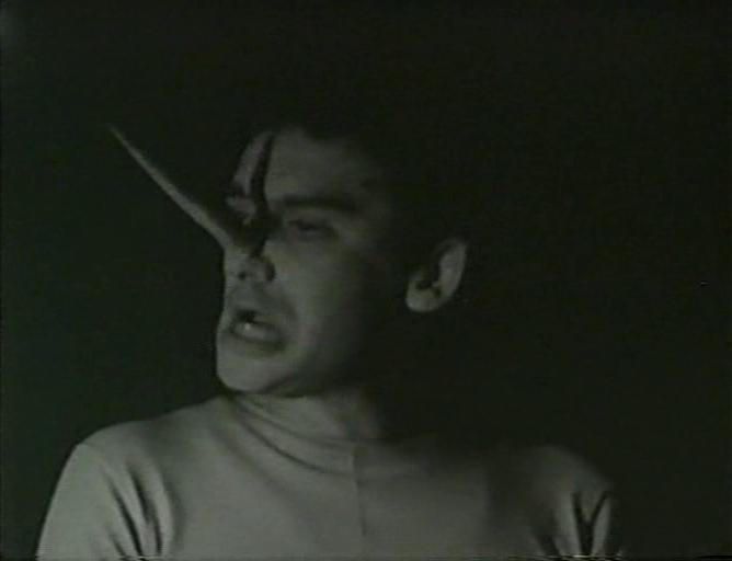 Fig. 5. Frame da Un'ora prima di Amleto più Pinocchio, regia di Paolo Brunatto,1965