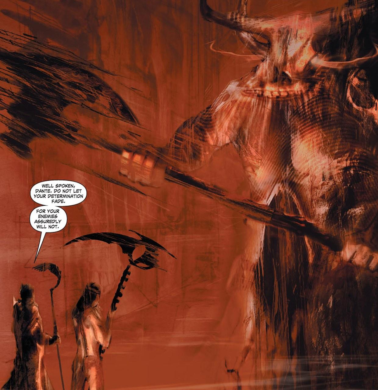 Christos Gage,Diego Latorre,Dante affronta il Minotauro, 2010, tav. 81