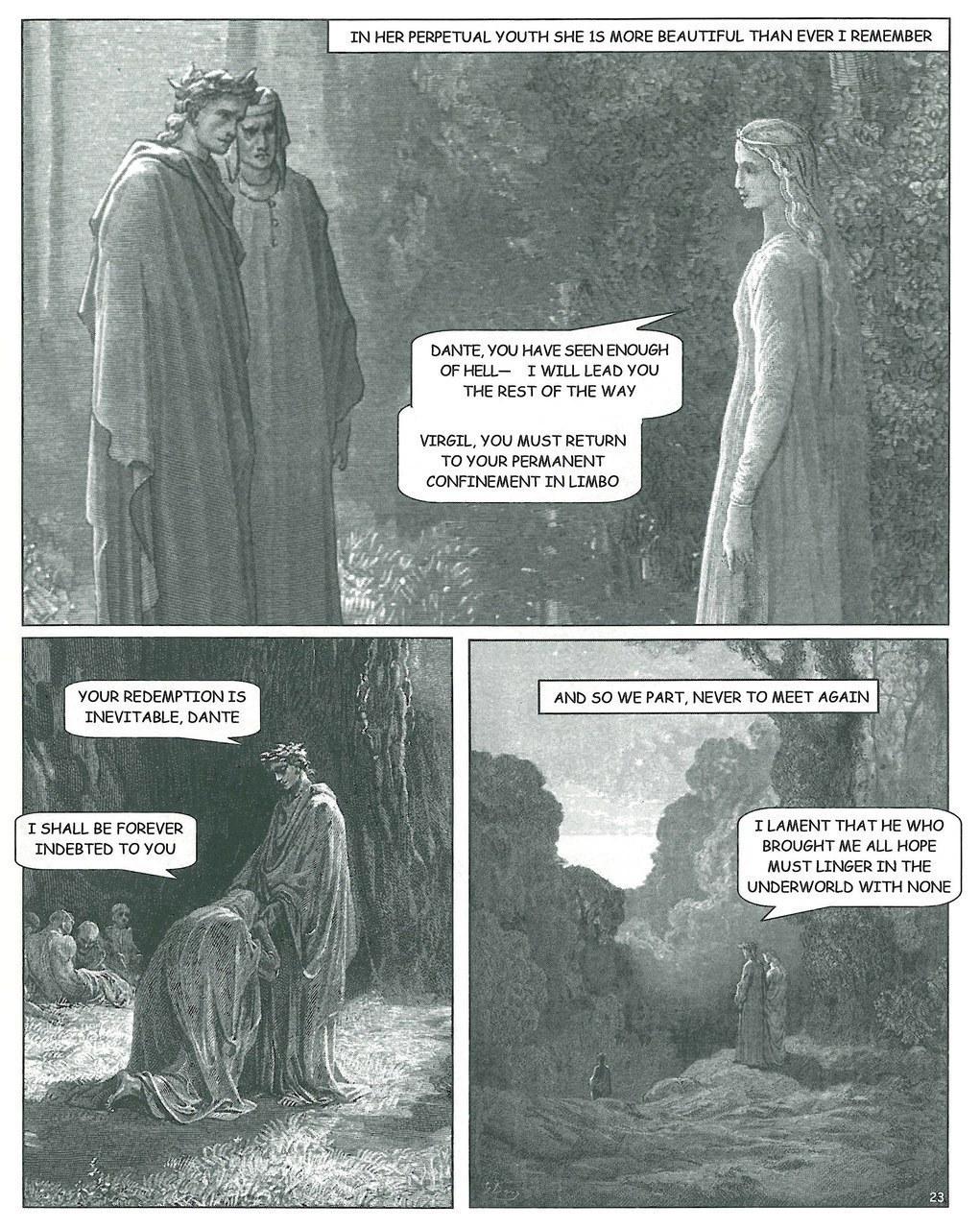 Joseph Lanzara,Dante incontra Beatrice, 2012, tav. 23