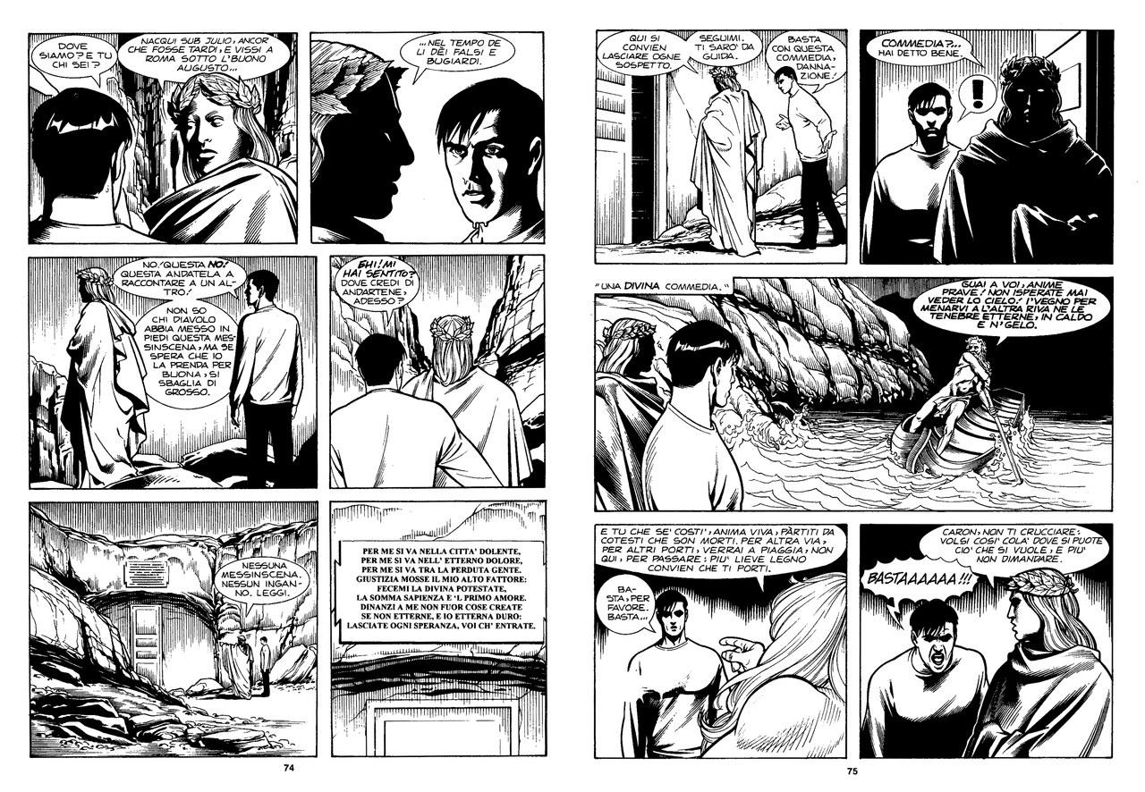 Ade Capone, Fabio Bartolini e Alessandro Bocci, Lazarus Ledd inizia il viaggio nell'inferno, in Discesa all'Inferno, 2000, pp. 74-75