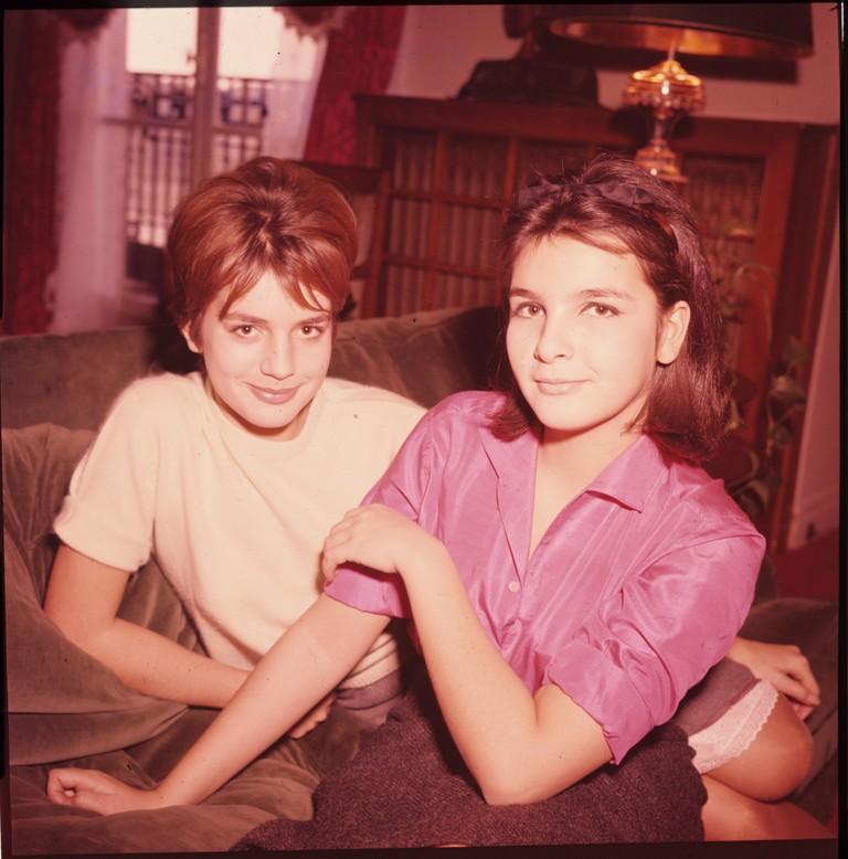 Fig. 6 Catherine e la sorella Agnès, 1960, © Museo nazionale del cinema-Torino; Centro sperimentale di cinematografia, Cineteca nazionale – Roma