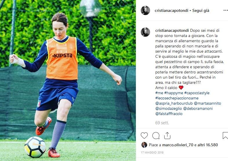 Fig. 5Pagina Instagram di Cristiana Capotondi