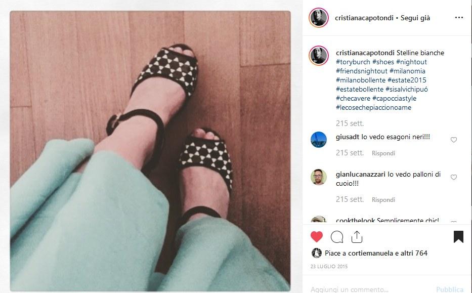 Fig. 6Pagina Instagram di Cristiana Capotondi